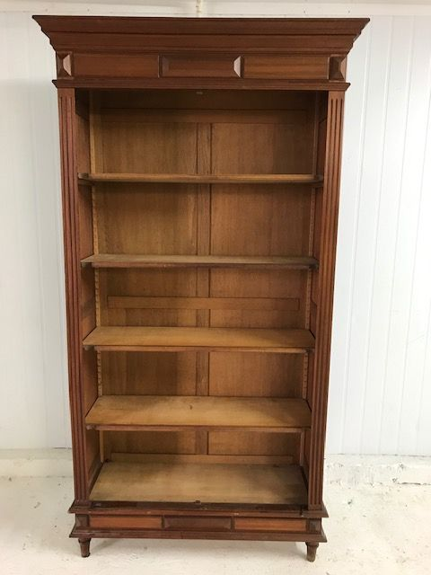 SOLD - Antique French  Display Cupboard / Bookcase - SW12